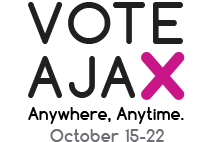 Vote Ajax logo